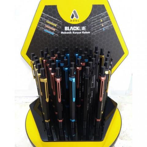 Adel Blackline Mekanik Kurşun Kalem 0.7 MM