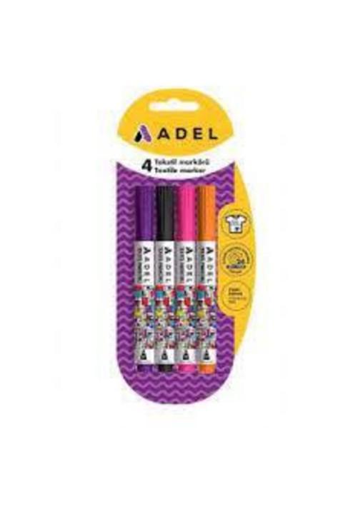 Adel Tekstil Markörü 4'lü Çeşit