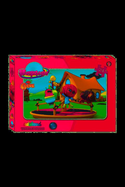 Adeland Trt Çoccuk Hapşuu 24 Parça Yapboz/Puzzle