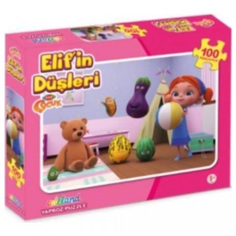 Adeland Trt Çocuk Elifin Düşleri 100 Parça Yapboz (Puzzle)