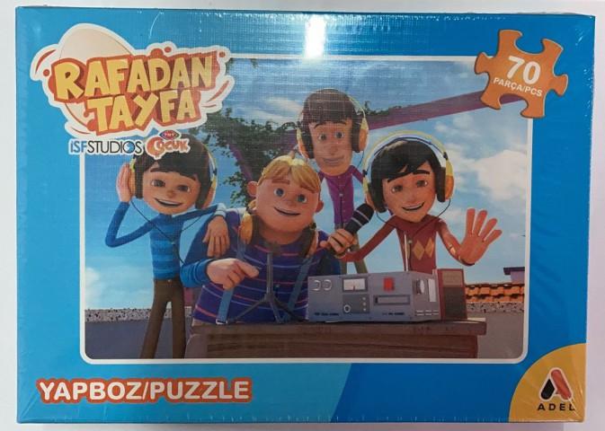 Adeland Trt Çocuk Rafadan Tayfa 90 Parça Kutulu (Puzzle)