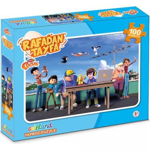 Adeland Trt Çocuk Rafadan Tayfa100 Parça Kutulu (Puzzle)
