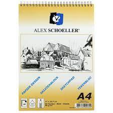 Alex Eskiz Blok A4 90 Gr Spiralli Dik 60 Yp Alx-820