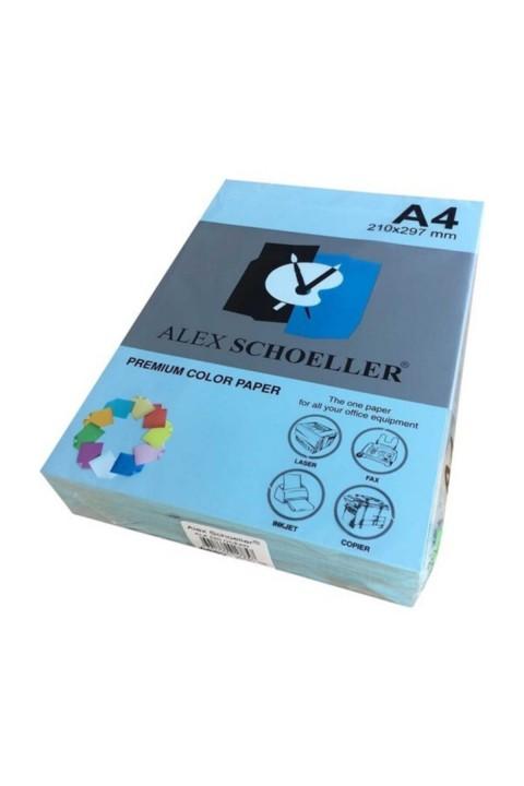 Alex Schoeller Mavi Renkli Fotokopi Kağıdı 500'lü