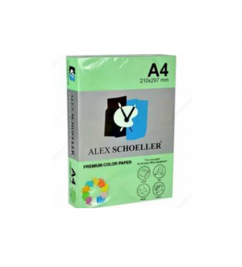 Alex Schoeller Yeşil Renkli Fotokopi Kağıdı 500'lü