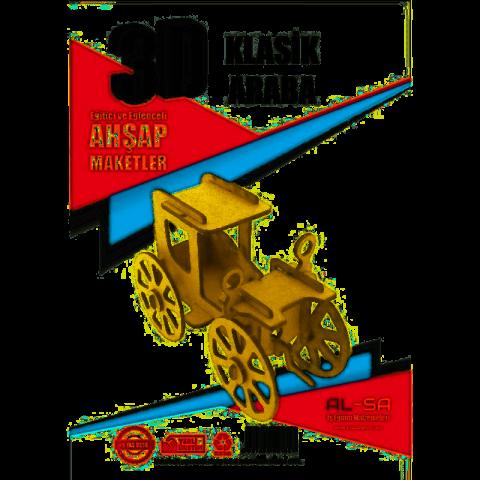 Alsa Iş Teknik 3d Ahşap Maket Klasik Araba