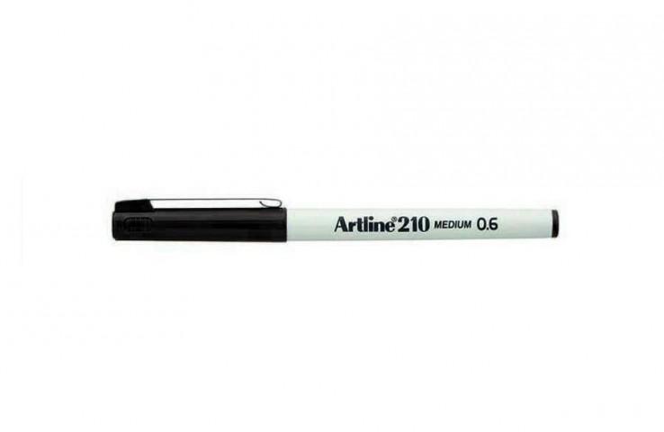 Artline 210 N Çizim Kalemleri 0.6mm Koyu Siyah