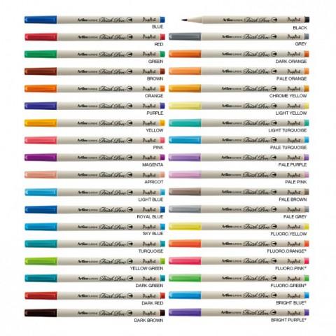 Artline Supreme Brush Pen 36 Renk Tam Set