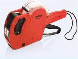 Assis 1360 Etiketleme Makinası Kırmızı