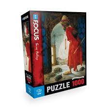 Blue Focus 1000 Parça Puzzle - Kaplumbağa Terbiyecisi