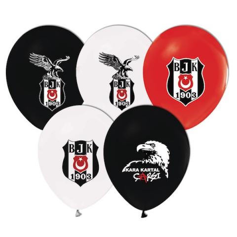 Balonevi Balon Beşiktaş Lisanslı Baskılı 100 LÜ 0698