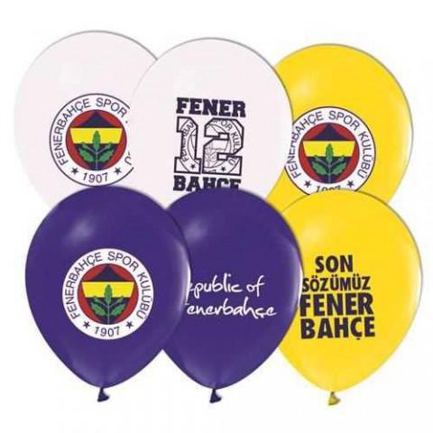 Balonevi Balon Fenerbahçe Lisanslı Baskılı 100 LÜ