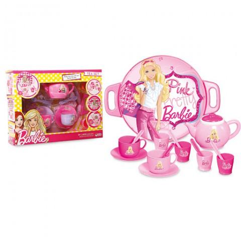 Barbie Tepsili Çay Seti