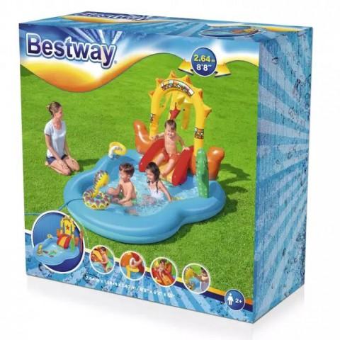 Bestway Vahşi Batı Oyun Havuzu + Mini El Pompası 30 Cm Hediyeli