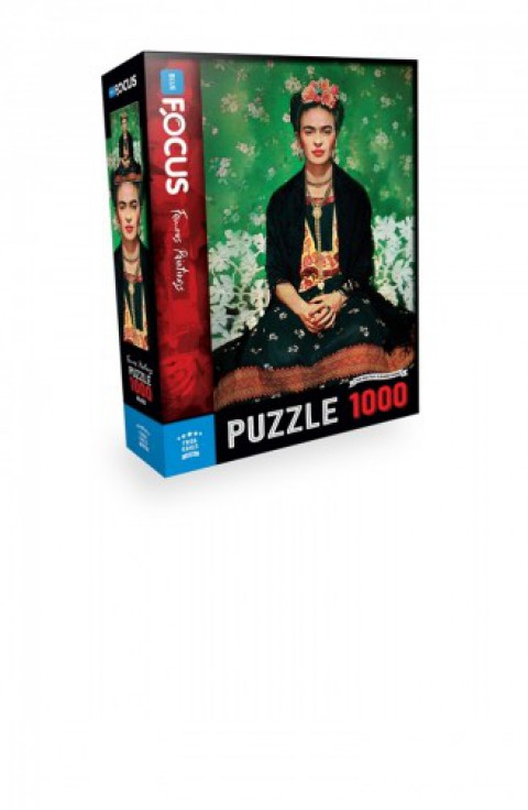 Blue Focus 1000 Parça Puzzle Frida Kahlo