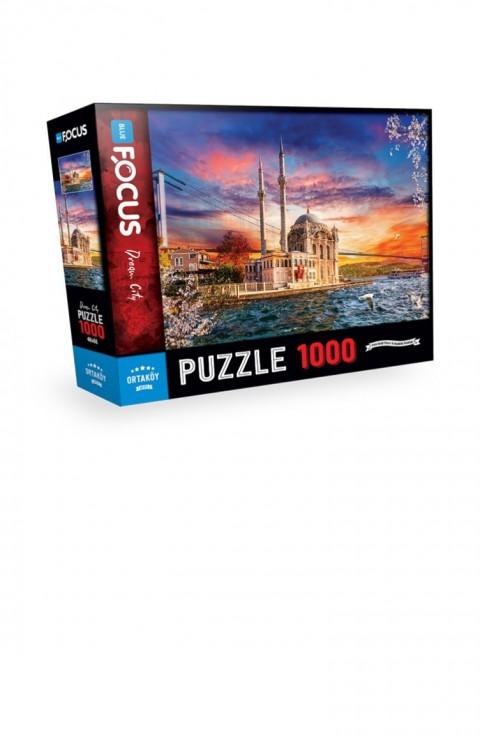Blue Focus 1000 Parça Puzzle Ortaköy