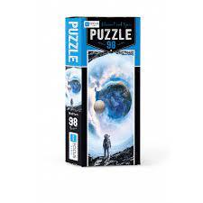 Blue Focus Astronaut And Space Puzzle 98 Parç