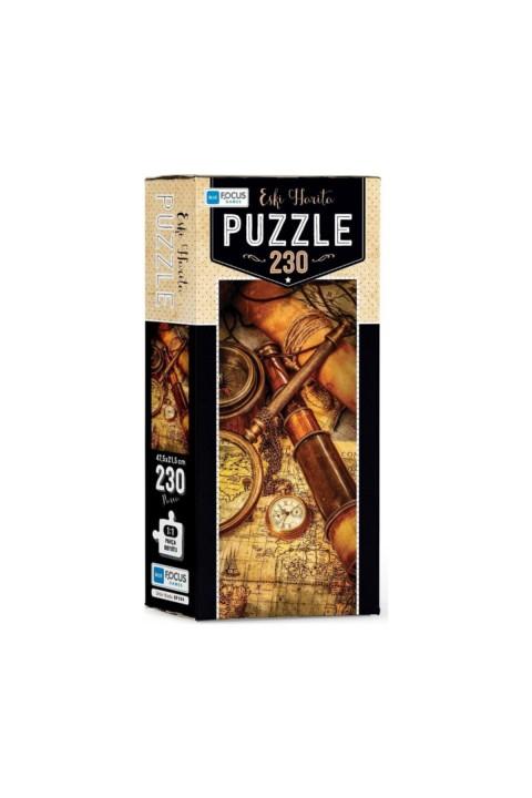 Blue Focus Eski Harita 230 Parça Puzzle