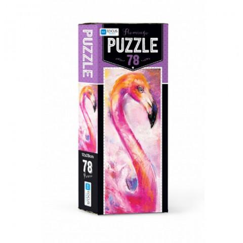Blue Focus Flamingo Puzzle 78 Parça