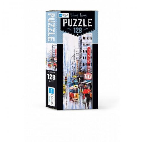 Blue Focus Hong Kong Puzzle 128 Parça