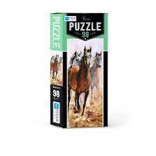 Blue Focus Horse Puzzle 98 Parça