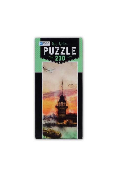 Blue Focus Kız Kulesi 230 Parça Puzzle Kutulu