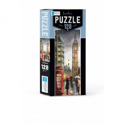 Blue Focus London Puzzle 128 Parça