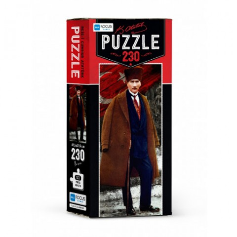 Blue Focus Mustafa Kemal Atatürk 230 Parça Puzzle