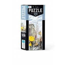 Blue Focus New York Puzzle 128 Parça