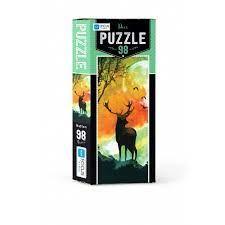 Blue Focus Puzzle Deer 98 Parça