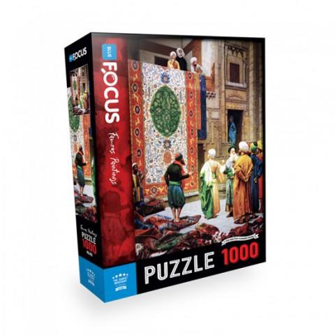 Blue Focus Puzzle Halı Tüccarı 1000 Parça