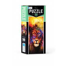Blue Focus Puzzle Lion 98 Parça