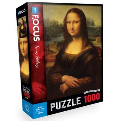 Blue Focus Puzzle Mona Lisa 1000 Parça