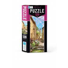Blue Focus Puzzle Old Street 128 Parça
