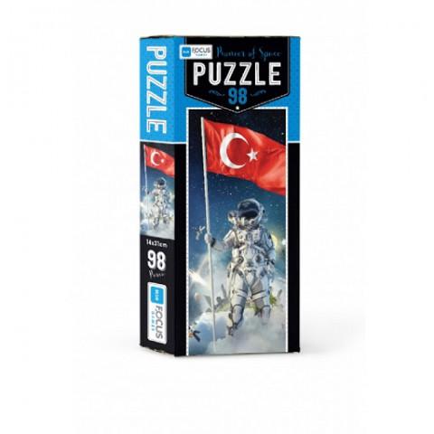 Blue Focus Puzzle Pioneer Of Space 98 Parça