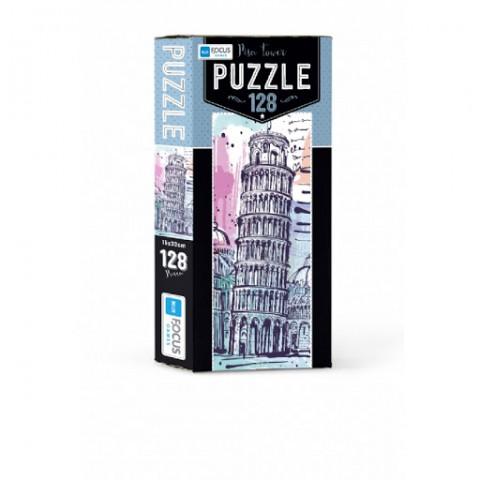 Blue Focus Puzzle Pisa Kulesi 128 Parça