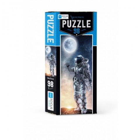 Blue Focus Puzzle Spaceman 98 Parça