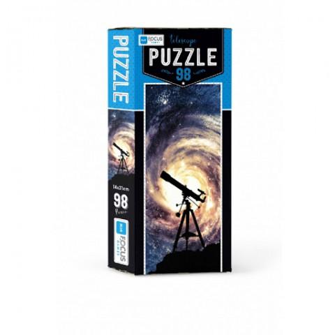 Blue Focus Puzzle Telescope 98 Parça