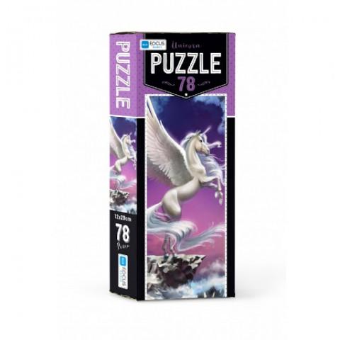 Blue Focus Unicorn Puzzle 78 Parça