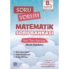 Bulut  Yayınları 8. Sınıf Soru Yorum Matematik Soru Bankası