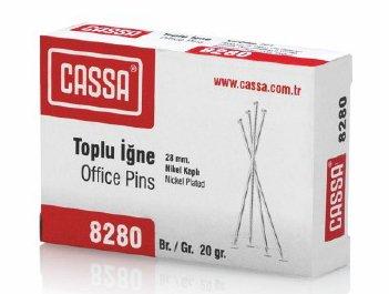 CASSA 8280 TOPLU İĞNE 20 GR 28 MM