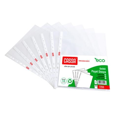 Cassa Poşet Dosya 100'lü 45 Paket 1 Koli