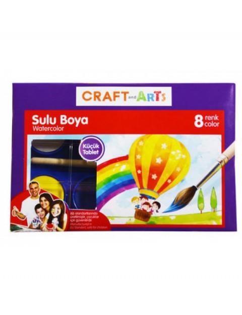 Craft And Arts Sulu Boya 8'li