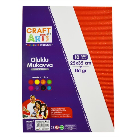 Craft and Arts OLUKLU MUKAVVA SIMLI 25X35 10'LU PAKET 161 GRAM