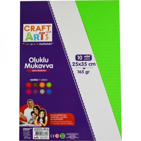 Craft and Arts  OLUKLU MUKAVVA SIMLI 25X35 10'LU PAKET 165 GRAM
