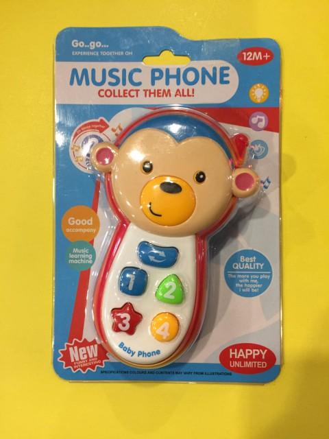 Eğitici Telefon Işıklı Sesli