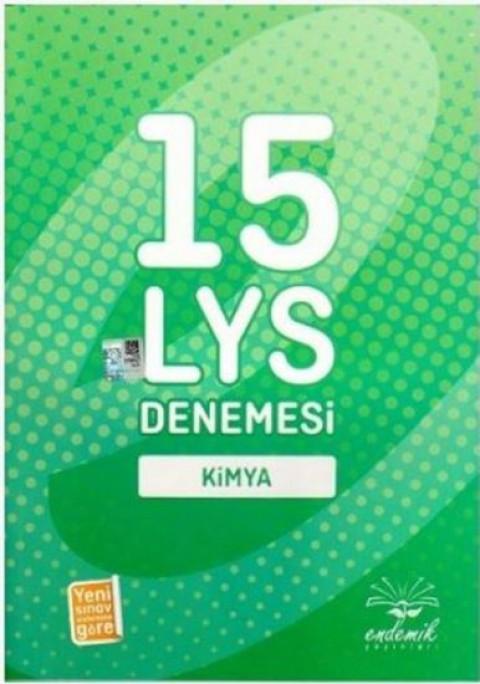 Endemik Yayınları 15 LYS Denemesi Kimya
