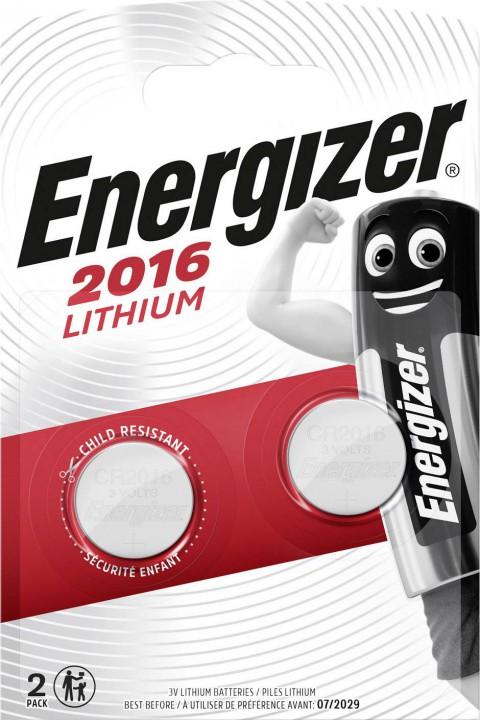 Energizer Lithium CR2016 2 li Pil