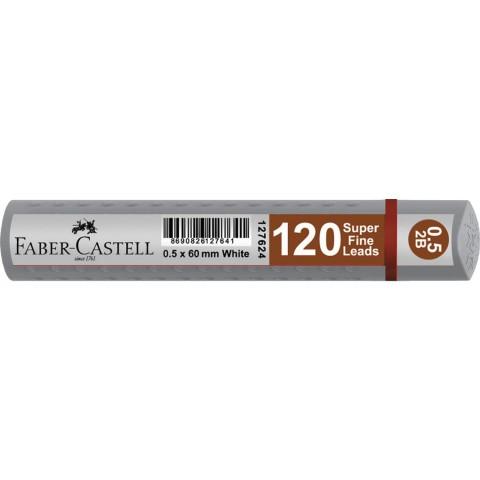 Faber Castell 120'li Kalem Ucu 0,5x60 mm Silver