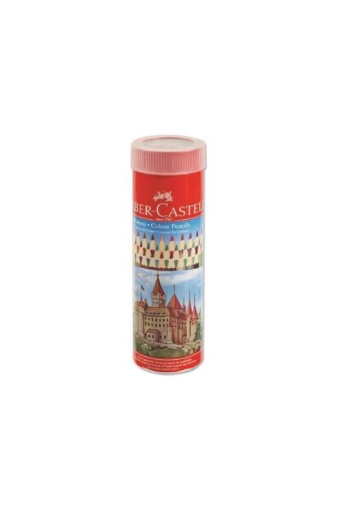 Faber Castell 36 Renk Metal Tüp Uzun Kuru Boya